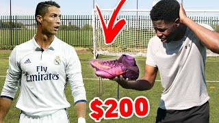 LOSING my RONALDO FOOTBALL BOOTS!! - Worst decision of my life ?? 😭💔