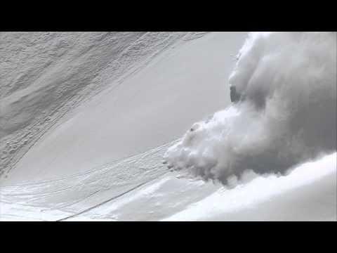Sverre Liliequist beim Swatch Skiers Cup 2013: Mit Style der Lawine entkommen  - © Swatch Skiers Cup