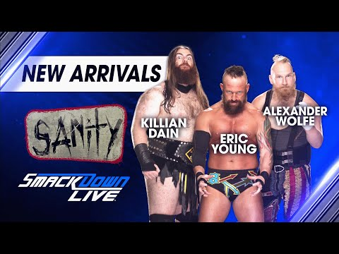 SAnitY is set to bring chaos to SmackDown LIVE: SmackDown LIVE, April 17, 2018