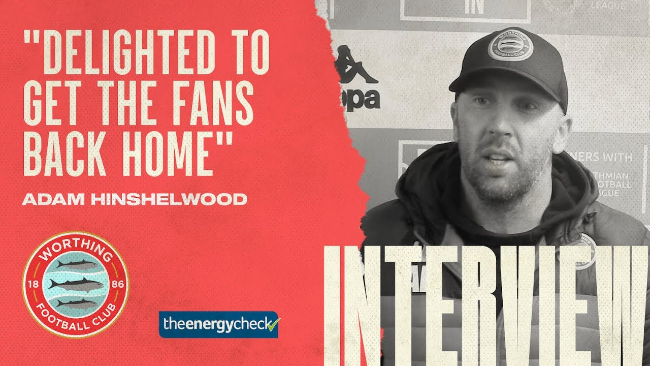 """Thumbnail for Hinshelwood: """"Delighted to get the fans back"""""""