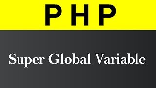 Super Global Variable in PHP (Hindi)