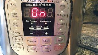 INSTANT POT Pressure Release SAFELY