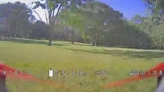 Testing out new FPV goggles.