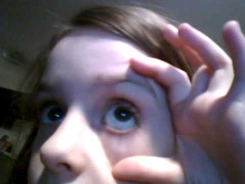 lil girl playin with web cam 8 years old