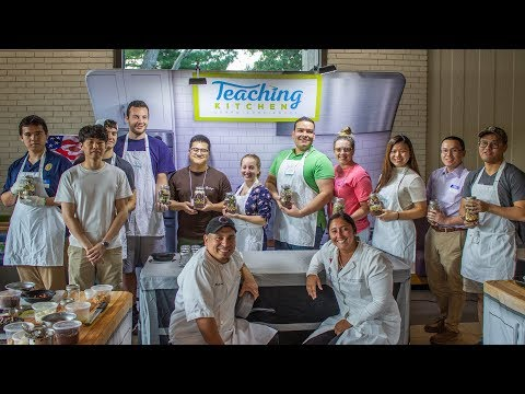 Vets-4-Vets Teaching Kitchen, Fall 2019