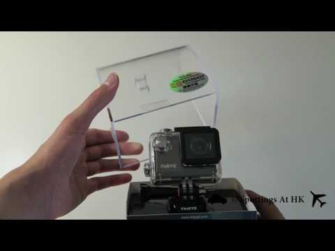 Thieye i30 WiFi Mini Action Camera Unboxing