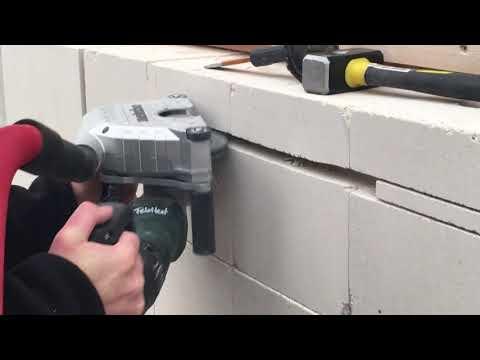 Metabo MFE Mauernutfräse - oder wie fräse ich Schlitze in nur einem Arbeitsgang