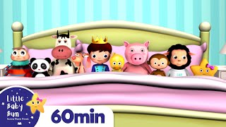 Ten In The Bed | +More Nursery Rhymes and Kids Songs | ABCs and 123s | Little Baby Bum