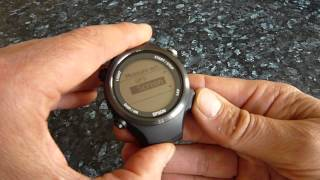 Epson SF-810 GPS Runners watch Review.