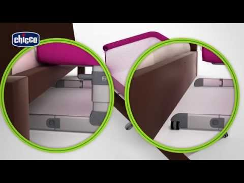 Chicco Next2Me Co-Sleeping Cot - How To Fit | BabySecurity
