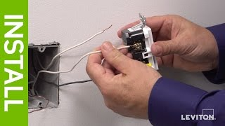 Leviton Presents: How to Install SmartlockPro AFCI/GFCI Outlet