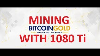 How to start mining bitcoin gold btg on pool with nvidia gpus btc gold btg mining profit with nvidia 1080ti ccuart Choice Image
