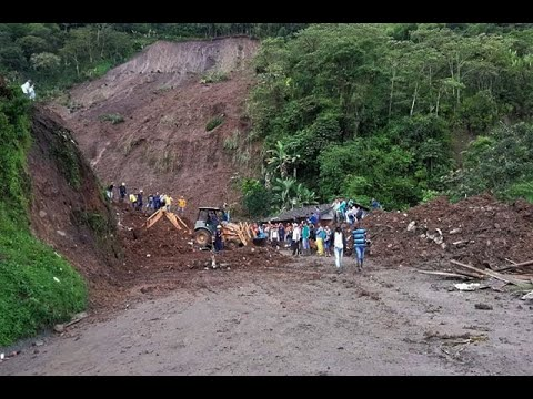 """""""Los demás quedaron enterrados ahí"""": Testigo del alud de tierra en Rosas, Cauca"""