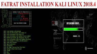 install fatrat kali linux - मुफ्त ऑनलाइन