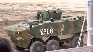 160910 DX KOREA 2016 K806 + K808 차륜형 장갑차