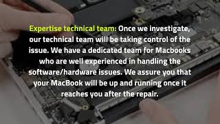 How to Get Quick Support to Fix your Macbook Problems in Dubai?