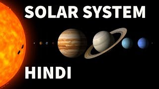 Solar System Explained in Hindi  - Geography for UPSC/SSC/CDS/LDC/State PCS