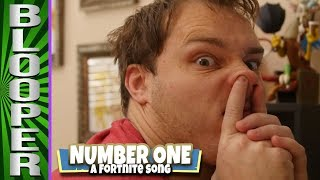 BLOOPERS from Number One: A Fortnite Song