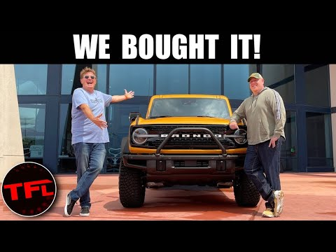 We Buy (& Take Delivery) of The 2021 Ford Bronco, Here's What We Think As Jeep Owners!