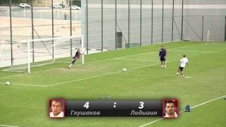 25 пенальти: Глушаков против Лодыгина