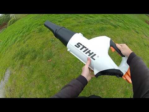 Stihl BGA 85 cordless blower review