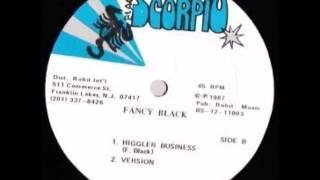 "Fancy Black - Higgler Business + Dub - 12"" Black Scorpio 1987 - CONSCIOUS DIGITAL 80'S DANCEHALL"