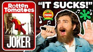 Bad Movie Review Singing Challenge