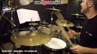 Diana Ross   I'm Coming Out   DRUM COVER