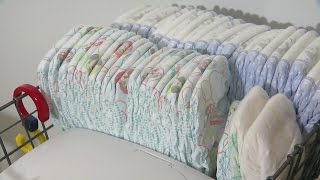 Dollars For Diapers: How To Save Money On Baby's Biggest Expense