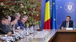 12/27/19 Declarații susținute de premierul Ludovic Orban la începutul ședinței de guvern