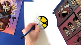 You Can Draw the Doctor Strange Icon! | Marvel Draw!
