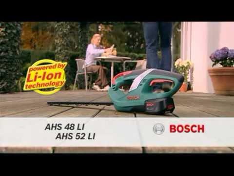 Cortasetos A Batería Ahs 48 Li Bosch
