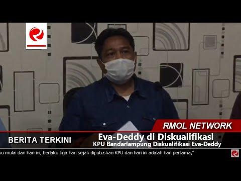 KPU Bandarlampung Diskualifikasi Eva-Deddy