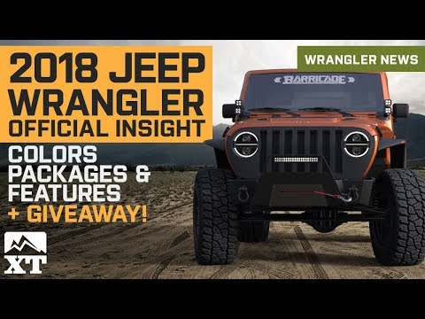 New 2018 Jeep Wrangler JL Details Leaked - Colors, Engine, Interior, Packages + Mishimoto Giveaway💥