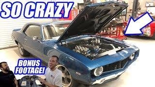 INSANE 69 Camaro Resto Mod! Plus A Cleetus And Jeremy Showdown!