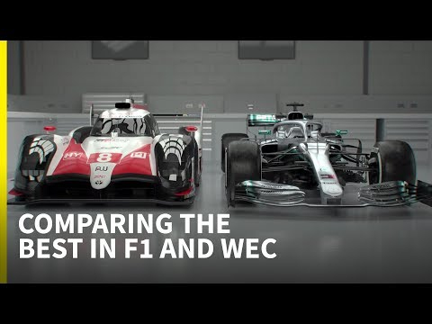 Mercedes F1 vs Toyota LMP1: Technical comparison