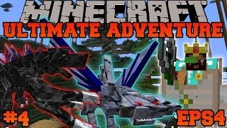 Minecraft: Ultimate Adventure - UNDERWATER BUILDING - EPS4 Ep. 4 - Let's Play Modded Survival