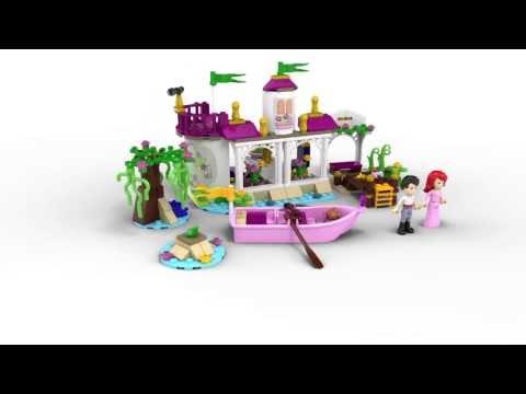 Vidéo LEGO Disney 41052 : Le baiser magique d'Ariel et son prince