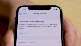 Apple is Locking iPhone Batteries to Discourage Independent Repair