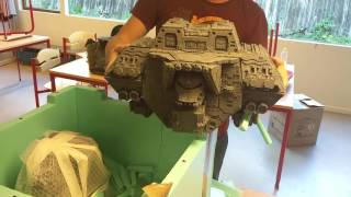 Forgeworld Warlord Titan - Detachable weapon arms - hmong video