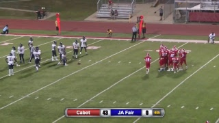 Cabot VS JA Fair 9-15-17