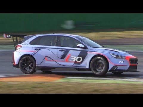 Hyundai i30 N TCR Testing at Monza Circuit