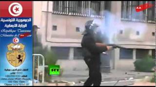 preview picture of video 'Révolution Tunisienne et La police - الثورة التونسية و البوليس التونسي'
