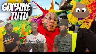 6IX9INE- TUTU (Official Music Video) Reaction!!!