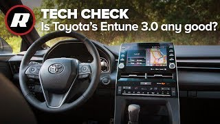 Tech Check: 2019 Toyota Avalon Entune 3.0 infotainment system