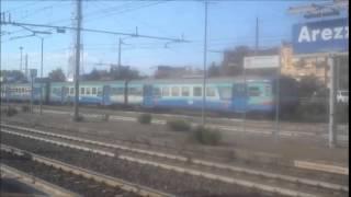 preview picture of video 'Treni ad Arezzo il 16 luglio 2014'