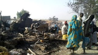 Nigerian air force mistakenly bombs refugee camp, at least 50 dead