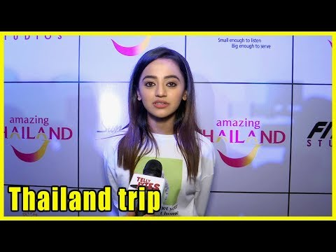 Helly Shah Talk About Thailand Trip With Fitzup