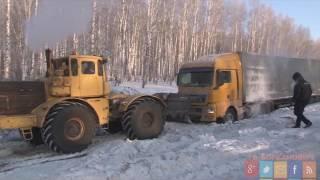 Снежный плен дорог