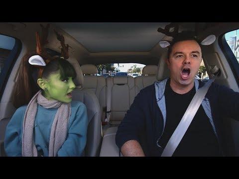 Apple Music — Carpool Karaoke — Ariana Grande and Seth MacFarlane